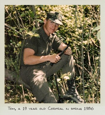 Tom (MILPICTURES), a 19 year old Corporal in Spring 1986.