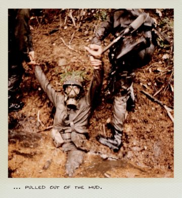 Tom (MILPICTURES) in 1985 pulled out of the mud.